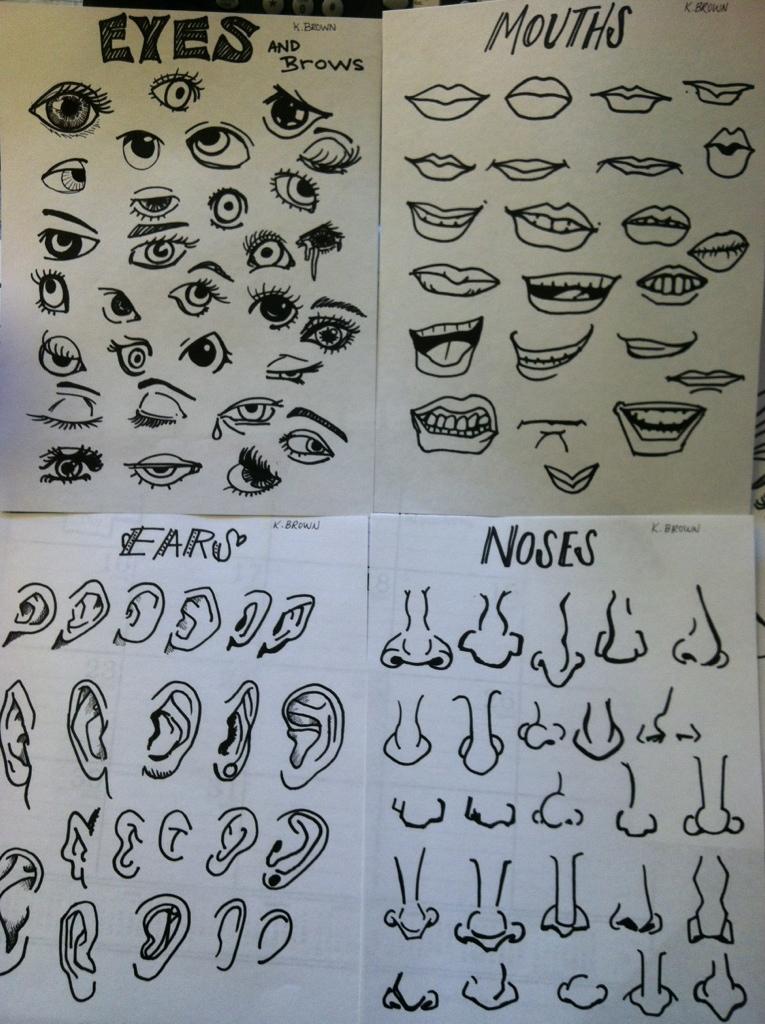 Facial Features : Katieu0026#39;s Blog