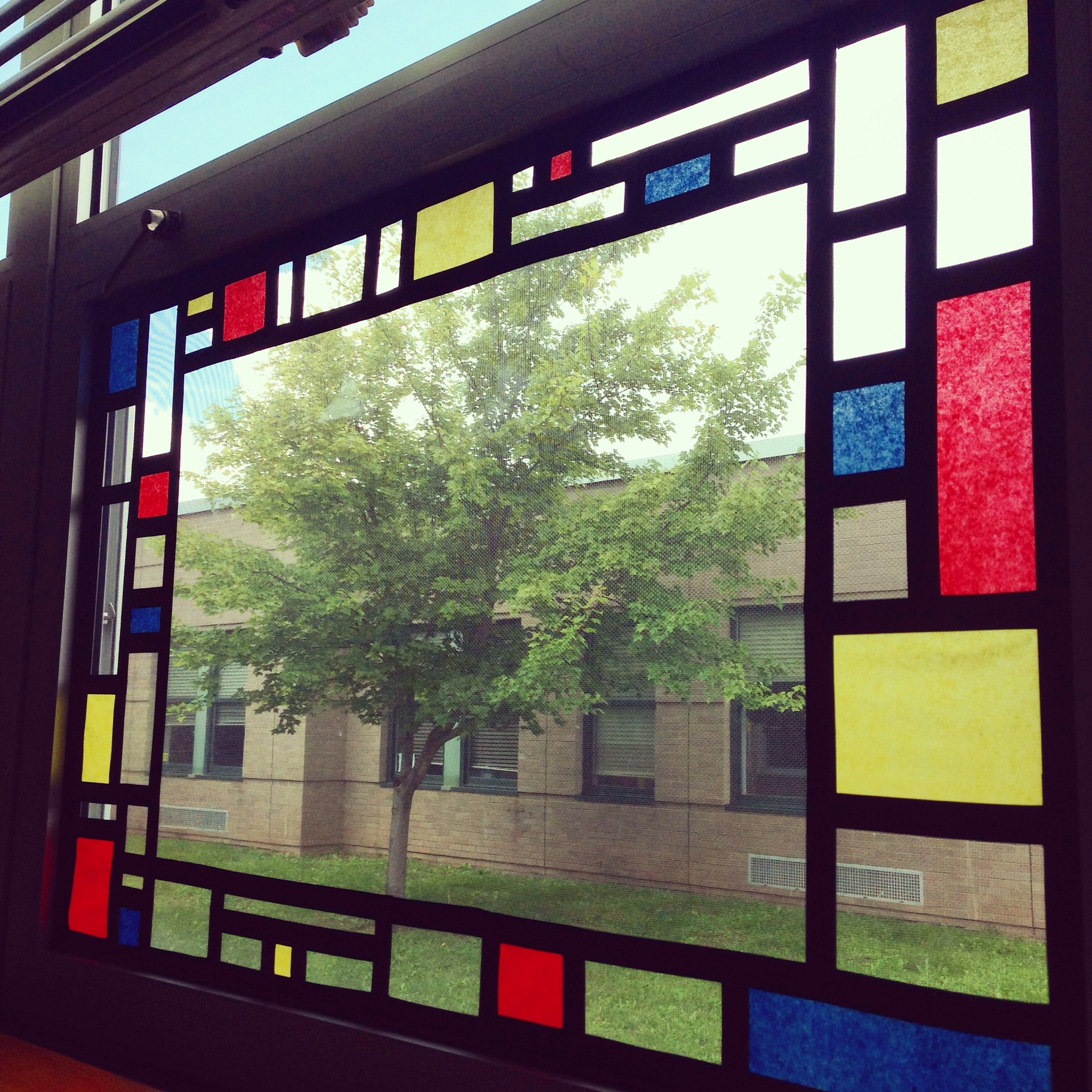 Classroom Window Ideas : Art room katie s